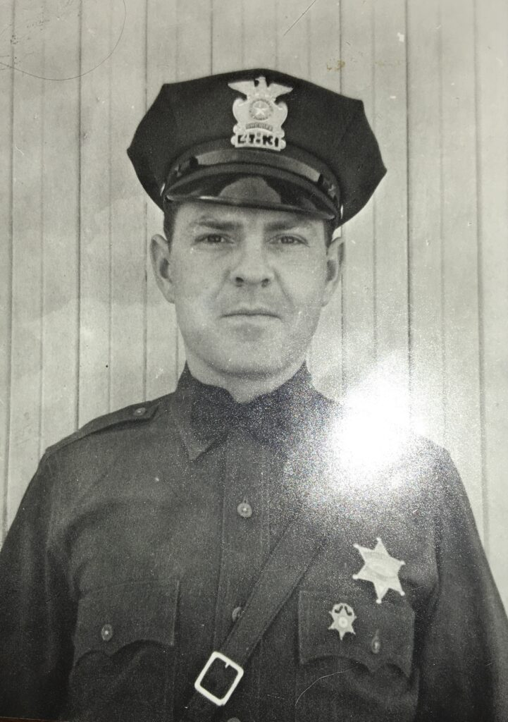 My Grandfather the good cop.